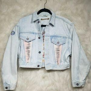 Vintage LA Gear Denim Jacket